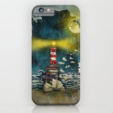 the sea is poetry Slim Case iPhone 6s