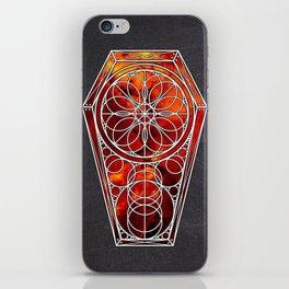 Sacred Geometry Dreamstate - Fire Nebula iPhone Skin