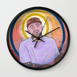 "Mac Miller - ""Music, it's a beautiful thing. It's a beautiful thing."" Wall Clock"