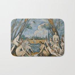 Paul Cezanne - The Large Bathers Bath Mat
