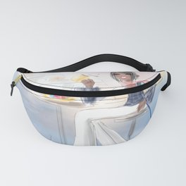 Cafe By The Sea Fanny Pack