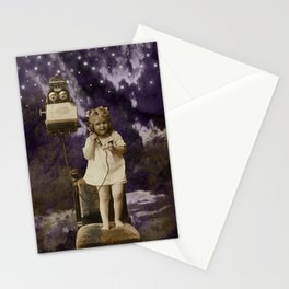 Little Lady of Celestial Night by HJ Tanner Studio Stationery Cards