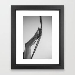 Leggy Framed Art Print