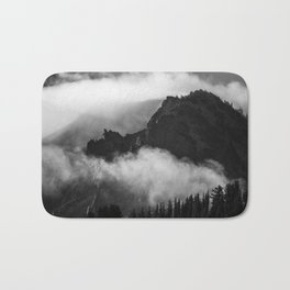 Cloudy Mountain Bath Mat