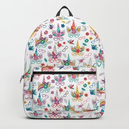 Unicorns with Glasses Backpack