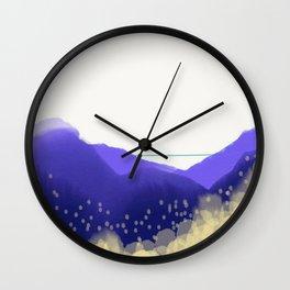 Pollen Count Wall Clock