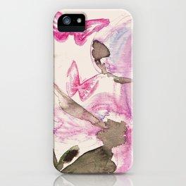 dreamy-butterfly-art iPhone Case