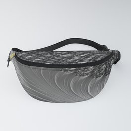 Grey Scale Fanny Pack