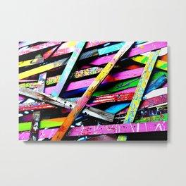 Funneled Creativity 2 Metal Print