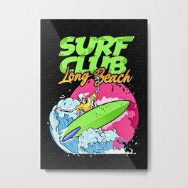 Surf Club Metal Print