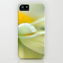 Drops macro 11 iPhone Case