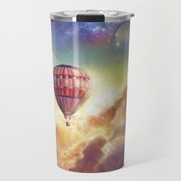 clouds,sky and ballons Travel Mug