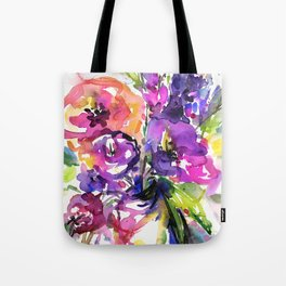 Floral Dance No. 5 by Kathy Morton Stanion Tote Bag