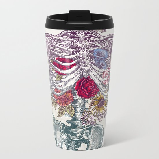 La Vita Nuova (The New Life) Metal Travel Mug