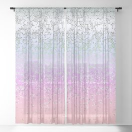 Glitter Star Dust G251 Sheer Curtain