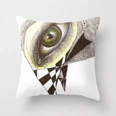 The Bird's Eye Throw Pillow