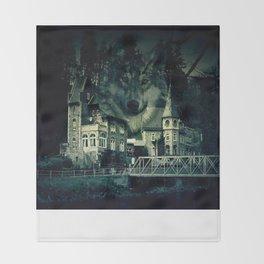 Castle of Wolves Throw Blanket