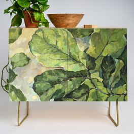 Green Leaves Credenza