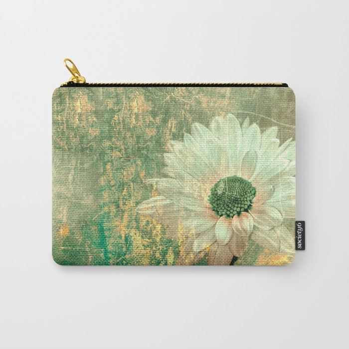 Abstract Daisy Carry-All Pouch