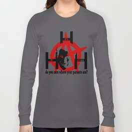 Mark Hunter: Anarchist Long Sleeve T-shirt