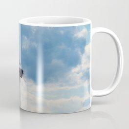 A Stork among the Clouds Coffee Mug