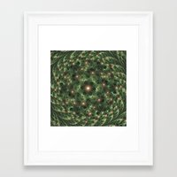 camouflage Framed Art Prints featuring Camouflage by Awesome Palette