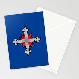 Three Musketeers Uniform Logo Stationery Cards