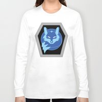 hologram Long Sleeve T-shirts featuring Visionaries Fox by Eden Nur Madinah