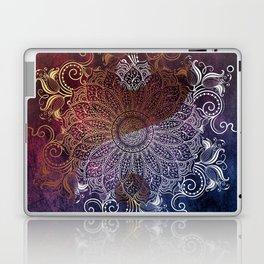Yang fire & ice Laptop & iPad Skin