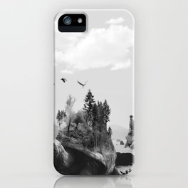 Tutles and the Trees iPhone Case