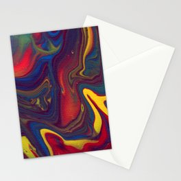 Paint Pouring 21 Stationery Cards