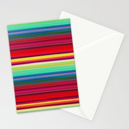 Rainbow Colors Stationery Cards