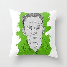 Compulsive Liar, Punching Bag, Anti-Hero:  Benjamin Linus Throw Pillow