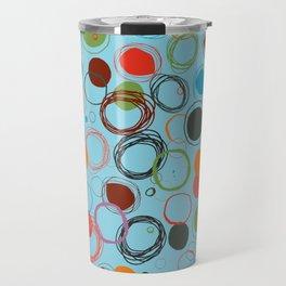 squiggles & circles Travel Mug