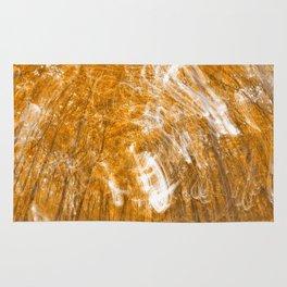 Golden Banshee Forest Rug