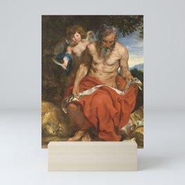 Anthony van Dyck - Saint Jerome Mini Art Print