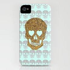 skulls & heartz;; Slim Case iPhone (4, 4s)