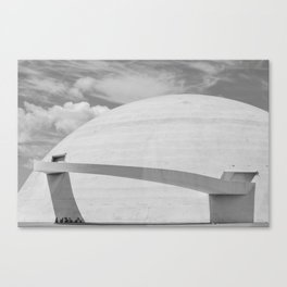 Niemeyer | architect | National Museum Canvas Print