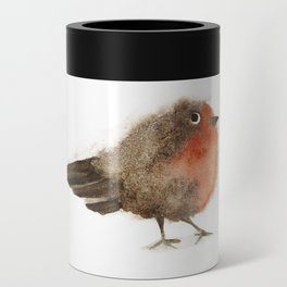 Fuzzy Bird Can Cooler