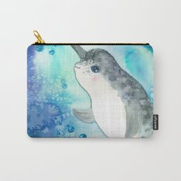 Baby narwhal Carry-All Pouch