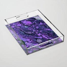 Purple River Acrylic Tray