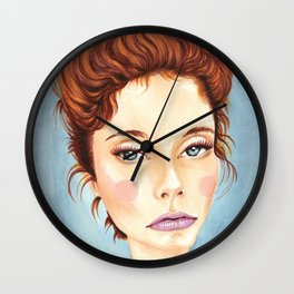 B*+@# Resting Face Wall Clock