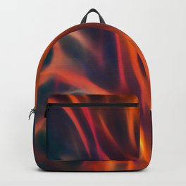 Glowng Orange Fire Backpack