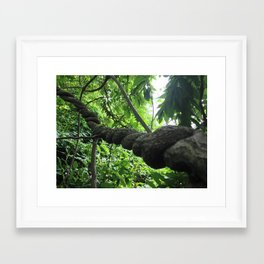 the mighty jungle Framed Art Print
