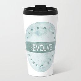 Evolve yourself, revolve the world Travel Mug