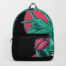 Alien Gangsta Aliens Gangster Gift Backpack