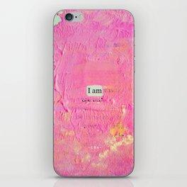 iampink iPhone Skin