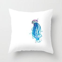Cerulean Squishy Throw Pillow
