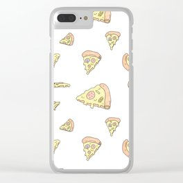 Pick Your Pizza Slices! Clear iPhone Case