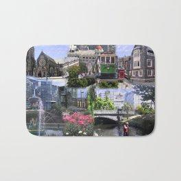 Christchurch Collage No 2 Bath Mat